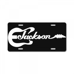 jackson guitar License Plate | Artistshot