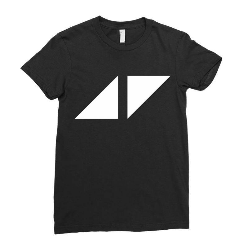 Avicii For Dark Ladies Fitted T-shirt | Artistshot