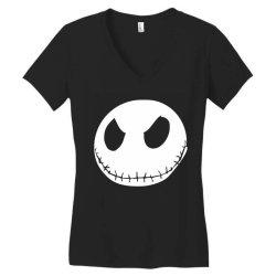 face horror Women's V-Neck T-Shirt | Artistshot
