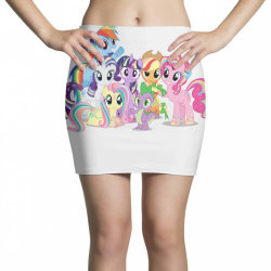 Unicorn friends cute cartoon art Mini Skirts | Artistshot