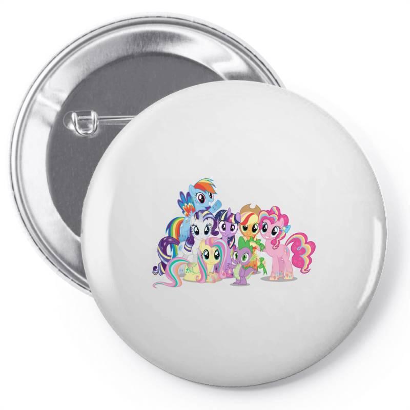 Unicorn Friends Cute Cartoon Art Pin-back Button | Artistshot