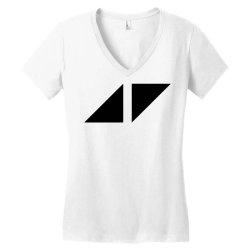 avicii for light Women's V-Neck T-Shirt   Artistshot