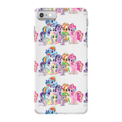 Unicorn friends cute cartoon art iPhone 7 Case | Artistshot