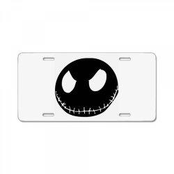 face horror License Plate | Artistshot