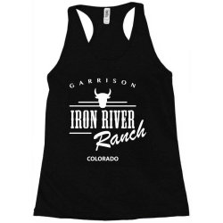 iron river ranch colorado Racerback Tank | Artistshot