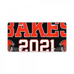cleveland bakes the playoffs 2021 football gift t shirt, cleveland License Plate | Artistshot