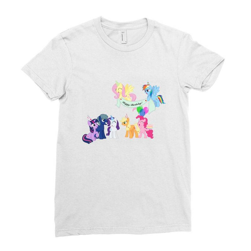 Happy Birthday Ladies Fitted T-shirt | Artistshot