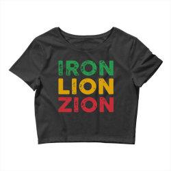 iron lion zion Crop Top   Artistshot