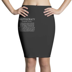 ineptocracy Pencil Skirts | Artistshot