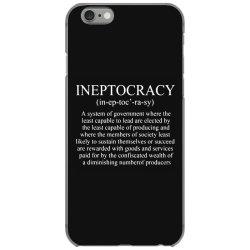 ineptocracy iPhone 6/6s Case | Artistshot