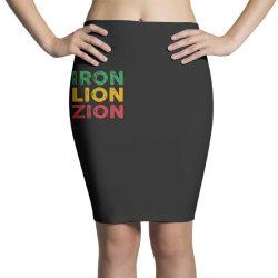 iron lion zion Pencil Skirts   Artistshot