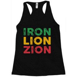 iron lion zion Racerback Tank   Artistshot