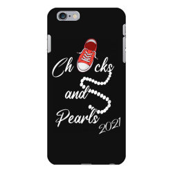 chucks and pearls 2021 cute chucks and pearls  gift t shirt iPhone 6 Plus/6s Plus Case | Artistshot