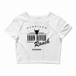 iron river ranch colorado Crop Top | Artistshot