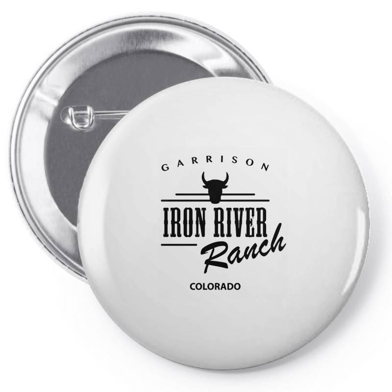 Iron River Ranch Colorado Pin-back Button | Artistshot