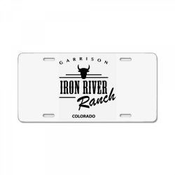 iron river ranch colorado License Plate | Artistshot