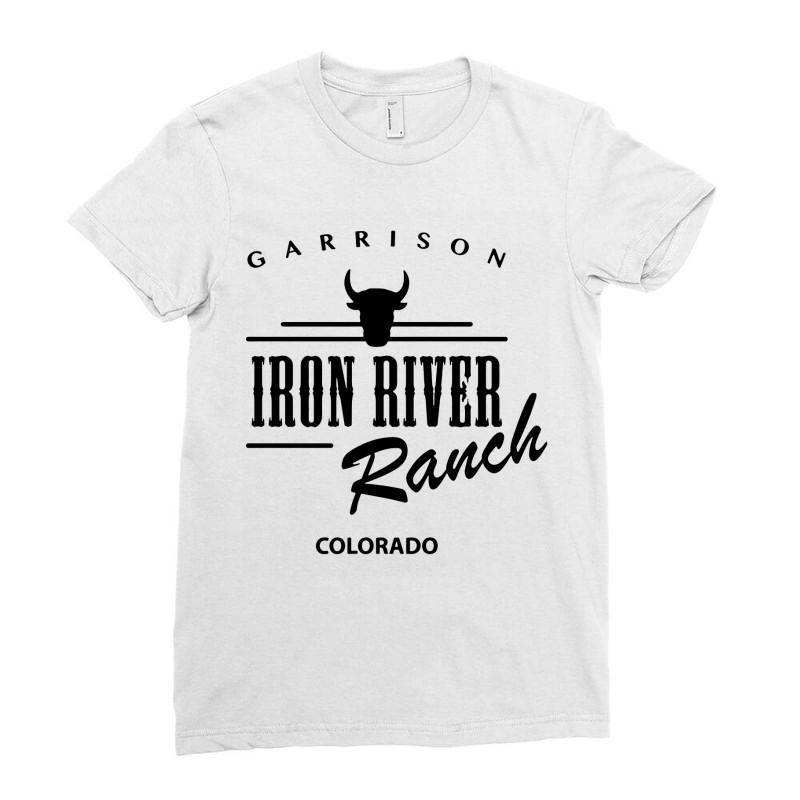 Iron River Ranch Colorado Ladies Fitted T-shirt | Artistshot