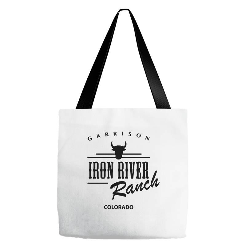 Iron River Ranch Colorado Tote Bags | Artistshot