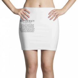 ineptocracy Mini Skirts | Artistshot