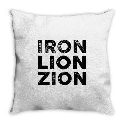 iron lion zion Throw Pillow | Artistshot