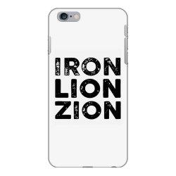 iron lion zion iPhone 6 Plus/6s Plus Case | Artistshot