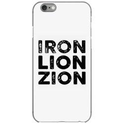 iron lion zion iPhone 6/6s Case | Artistshot