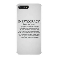 ineptocracy iPhone 7 Plus Case | Artistshot