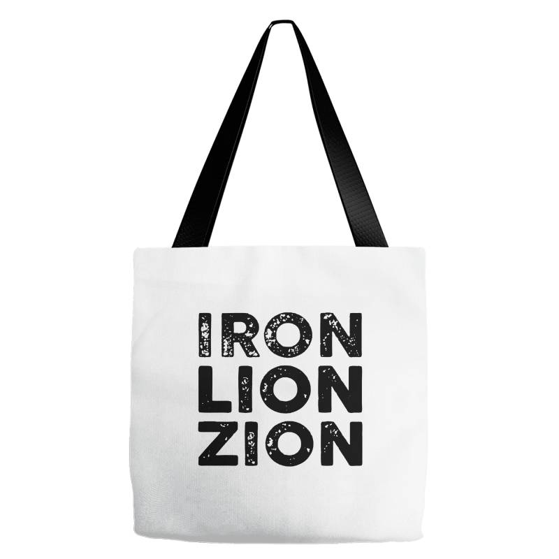 Iron Lion Zion Tote Bags | Artistshot