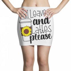 Fall Leaves And Lattes Please Mini Skirts | Artistshot