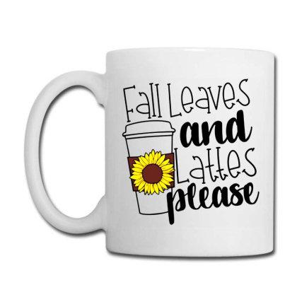 Fall Leaves And Lattes Please Coffee Mug Designed By Danielswinehart1