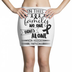 in this family no fight alone Mini Skirts | Artistshot