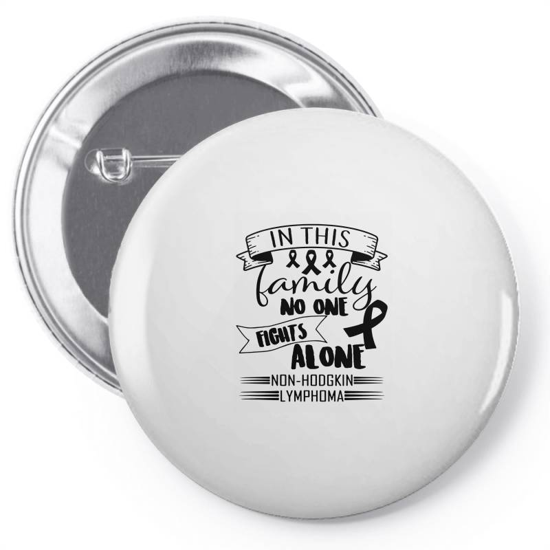 In This Family No Fight Alone Pin-back Button | Artistshot