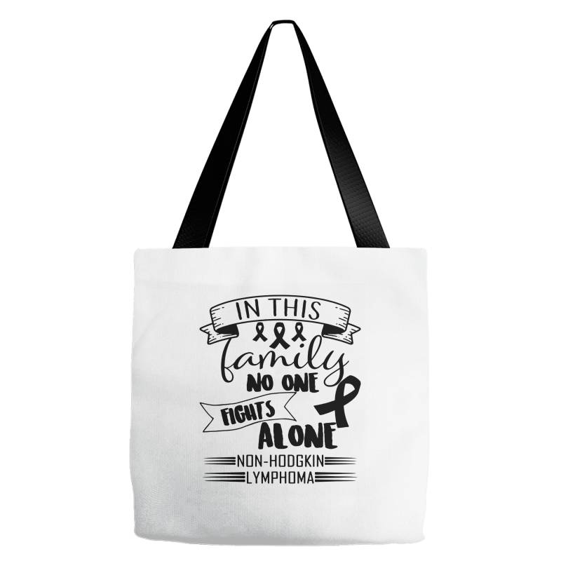 In This Family No Fight Alone Tote Bags | Artistshot