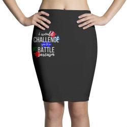 i would challenge you to a battle sarcasm Pencil Skirts | Artistshot