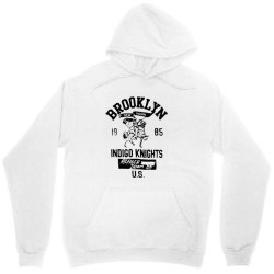 indigo knights brooklyn new york Unisex Hoodie | Artistshot