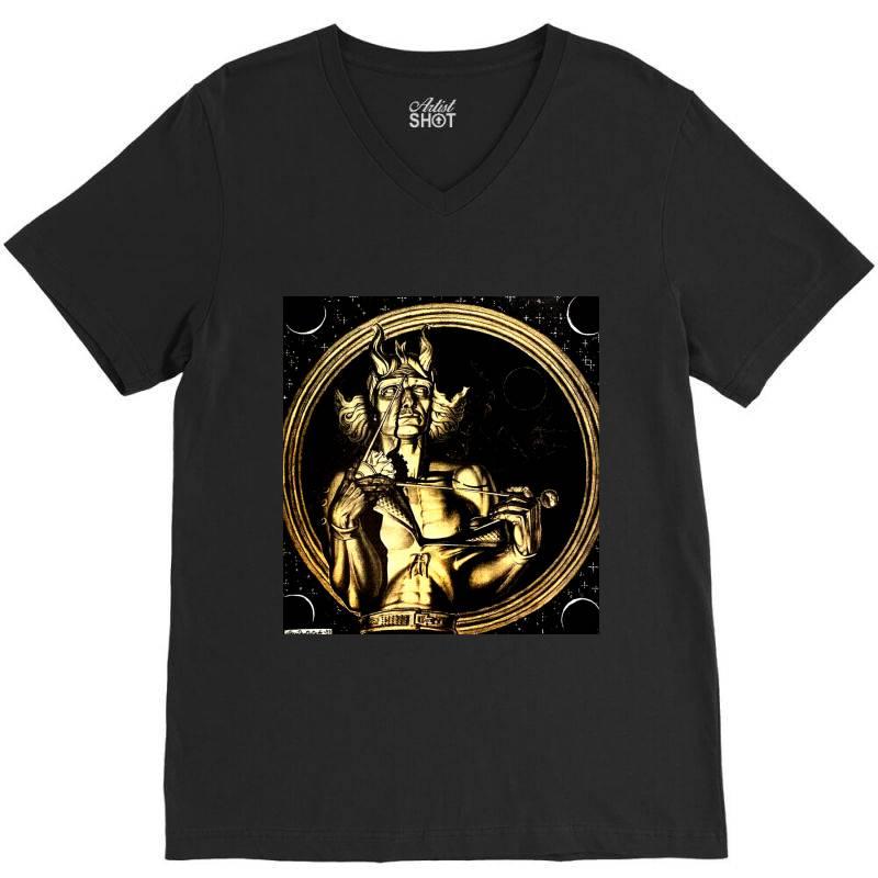 Szukalski Copernic Fitted T Shirt V-neck Tee | Artistshot