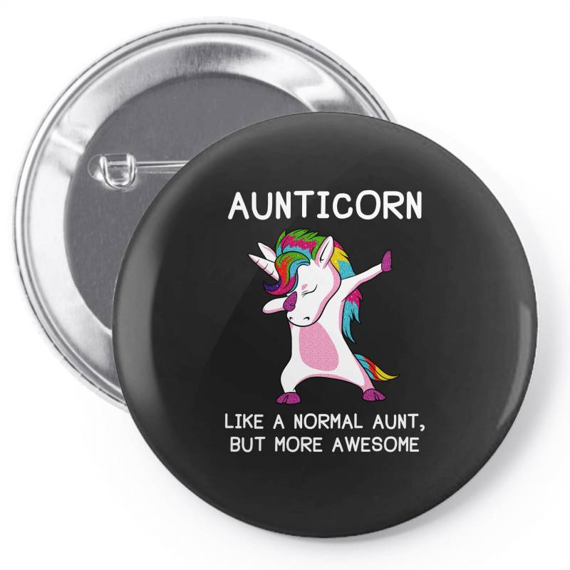 Aunticorn Unicorn Aunt Essential T Shirt Pin-back Button | Artistshot
