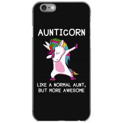 aunticorn unicorn aunt essential t shirt iPhone 6/6s Case | Artistshot