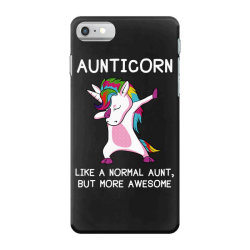 aunticorn unicorn aunt essential t shirt iPhone 7 Case | Artistshot