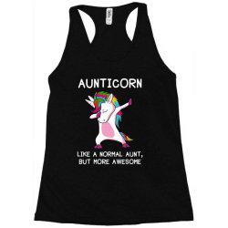 aunticorn unicorn aunt essential t shirt Racerback Tank   Artistshot