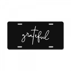 Grateful Idea Design License Plate | Artistshot