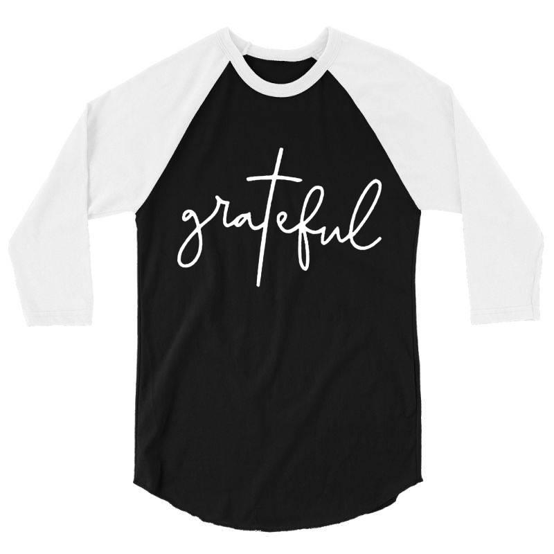 Grateful Idea Design 3/4 Sleeve Shirt   Artistshot