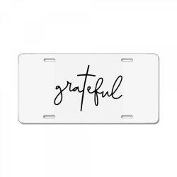 Grateful License Plate | Artistshot