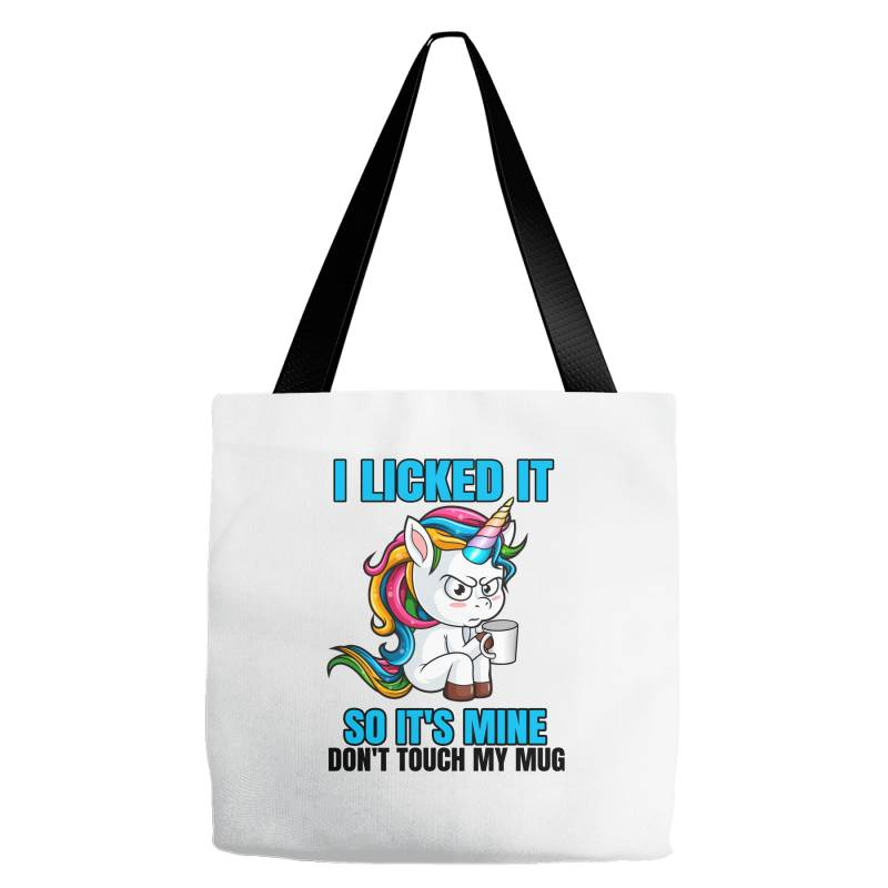 I Licked It So It´s Mine Tote Bags | Artistshot