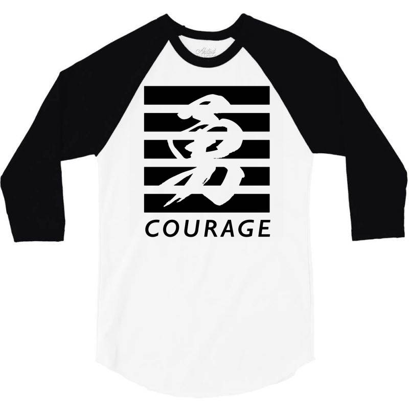 Self Courage 3/4 Sleeve Shirt | Artistshot