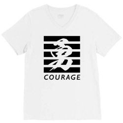 Self Courage V-Neck Tee | Artistshot