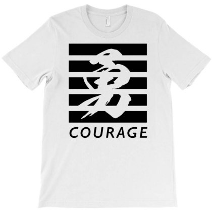 Self Courage T-shirt Designed By Goesclaudy
