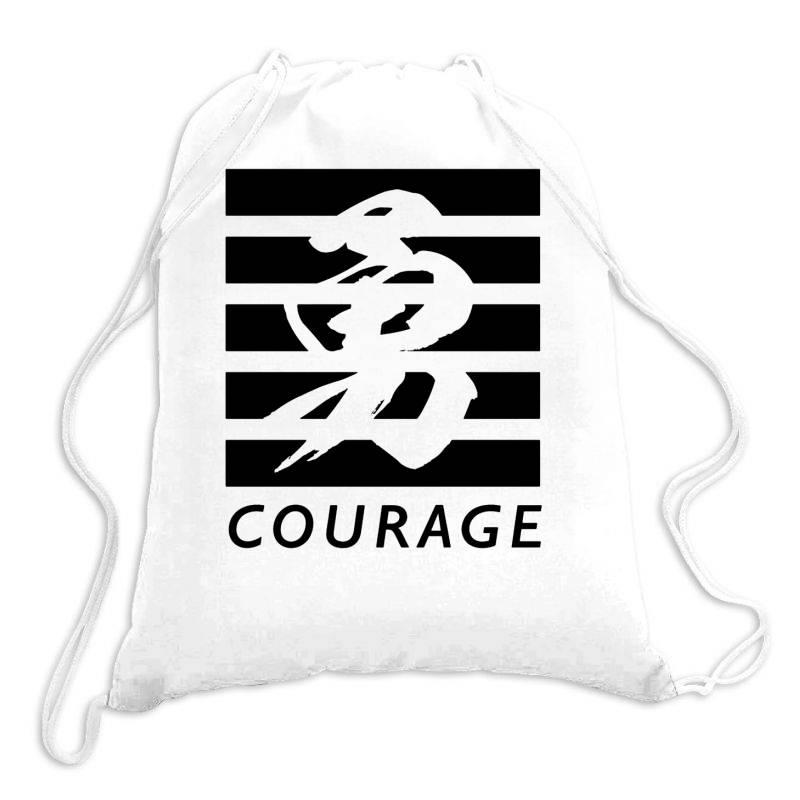Self Courage Drawstring Bags   Artistshot