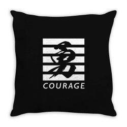 Courage Throw Pillow | Artistshot