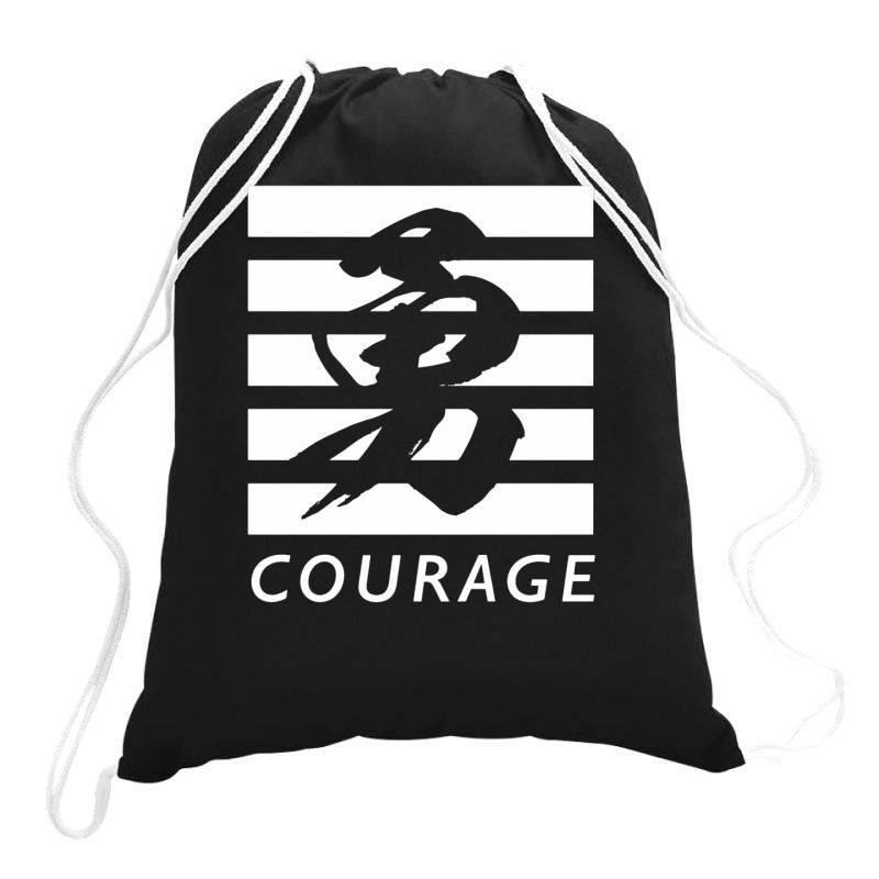 Courage Drawstring Bags | Artistshot
